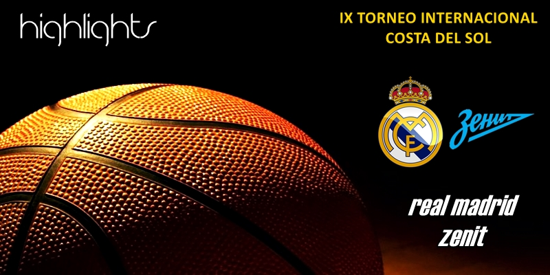 VÍDEO | Highlights | Real Madrid vs Zenit | Torneo Costa del Sol | Pretemporada