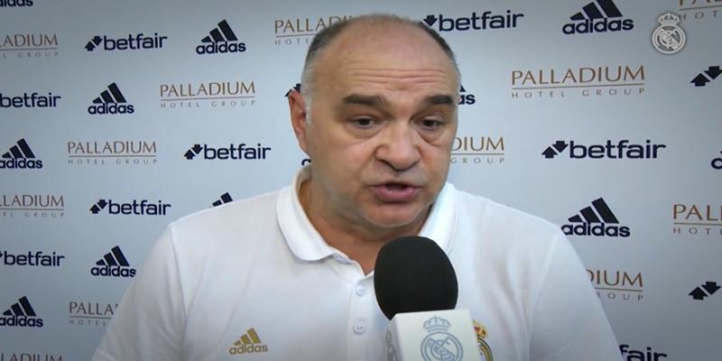 """DECLARACIONES   Pablo Laso: """"Hemos ganado un partido que ha sido muy igualado"""""""