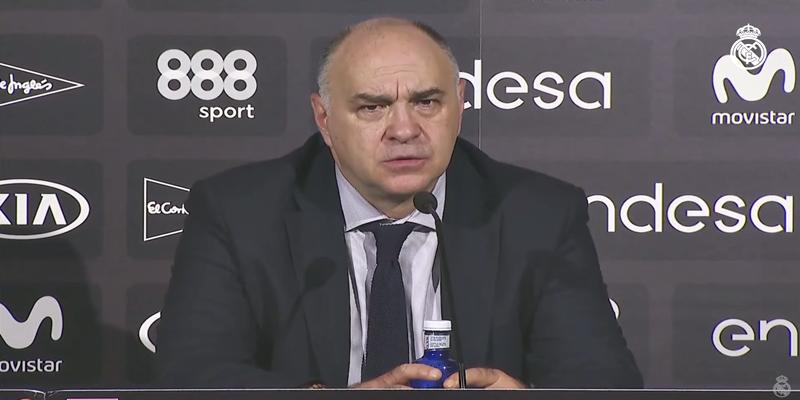 """VÍDEO   Pablo Laso: """"A partir de nuestro buen balance defensivo y control del juego hemos impuesto nuestro ritmo"""""""