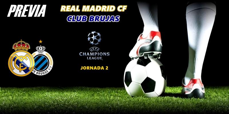 PREVIA   Real Madrid vs Club Brujas: Fuera fantasmas, es la hora de Brujas