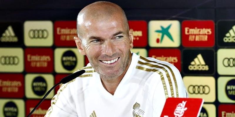 VÍDEO   Rueda de prensa de Zinedine Zidane previa al partido ante el Éibar