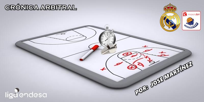 CRÓNICA ARBITRAL | Real Madrid vs Montakit Fuenlabrada | Liga Endesa | Jornada 4
