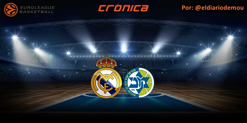 CRÓNICA | Y Jaycee sacó su fusil: Real Madrid 86 – 85 Maccabi Tel Aviv