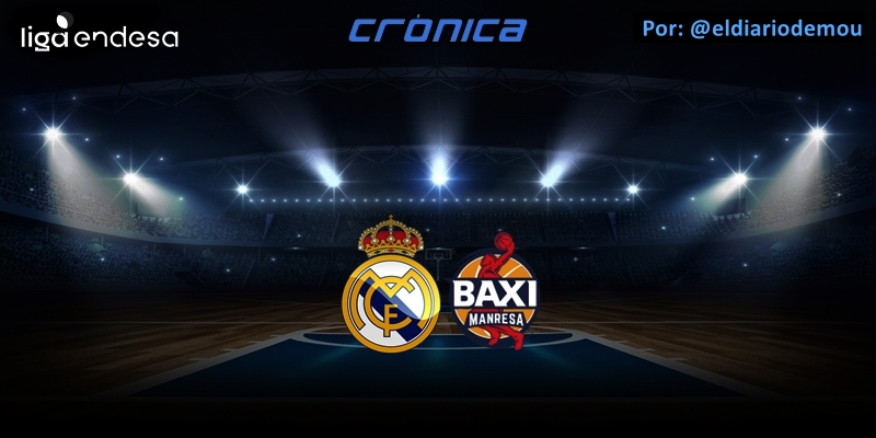 CRÓNICA | De menos a más: Real Madrid 94 – 74 Baxi Manresa