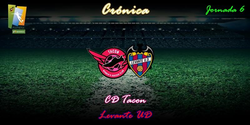 CRÓNICA   Clara derrota: CD Tacon 0 – 3 Levante UD