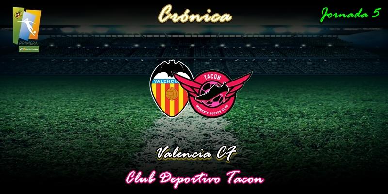 CRÓNICA | Empate que sabe a poco: Valencia CF 1 – 1 CD Tacon