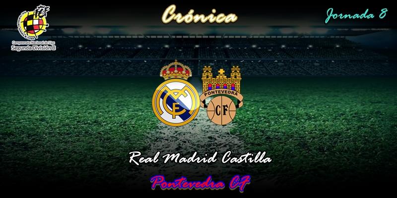 CRÓNICA | Festín de marisco y posterior indigestión: Real Madrid Castilla 2 – 1 Pontevedra