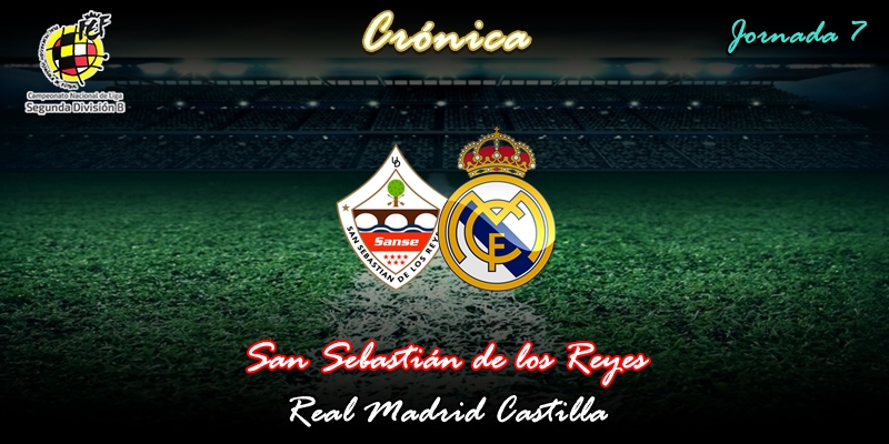 CRÓNICA | El Castilla salva los muebles junto a la sede de Ikea: San Sebastián de los Reyes 1 – 1 Real Madrid Castilla
