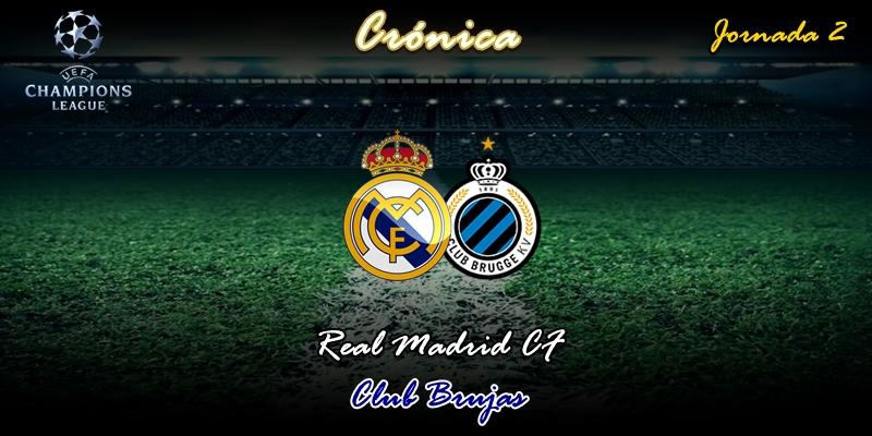 CRÓNICA | Una de terror y otra de suspense: Real Madrid 2 – 2 Club Brujas