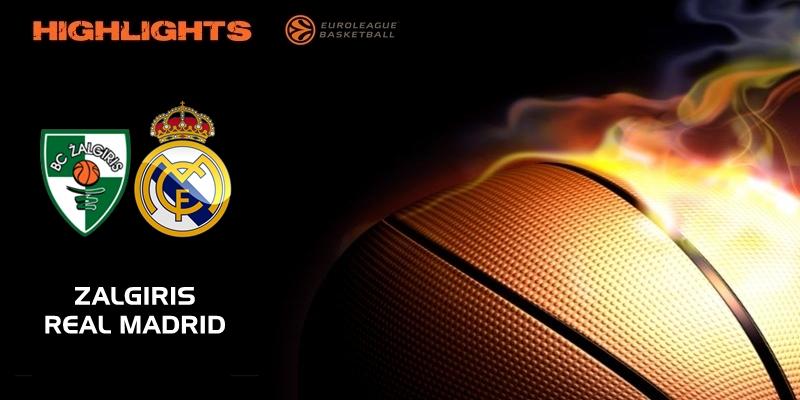 VÍDEO | Highlights | Zalgiris Kaunas vs Real Madrid | Euroleague | Jornada 3