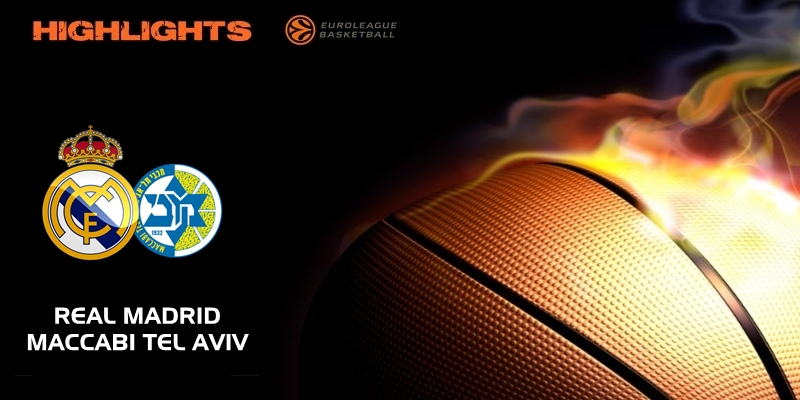 VÍDEO   Highlights   Real Madrid vs Maccabi Tel Aviv   Euroleague   Jornada 2
