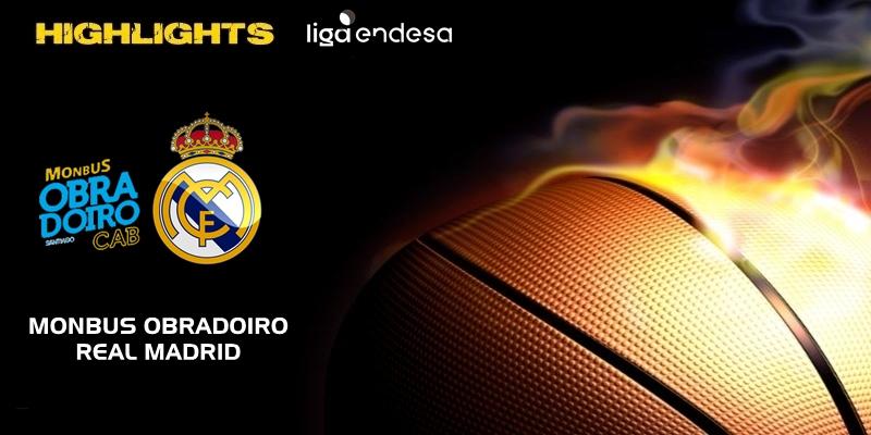 VÍDEO | Highlights | Monbus Obradoiro vs Real Madrid | Liga Endesa | Jornada 5