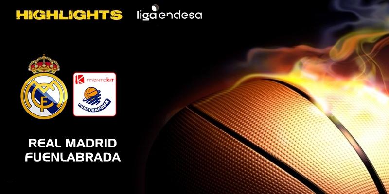 VÍDEO | Highlights | Real Madrid vs Montakit Fuenlabrada | Liga Endesa | Jornada 4
