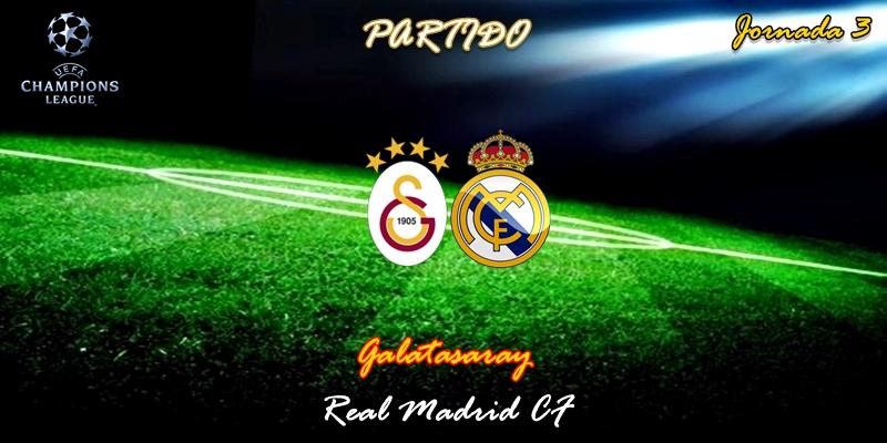 VÍDEO   Partido   Galatasaray vs Real Madrid   UCL   Jornada 3