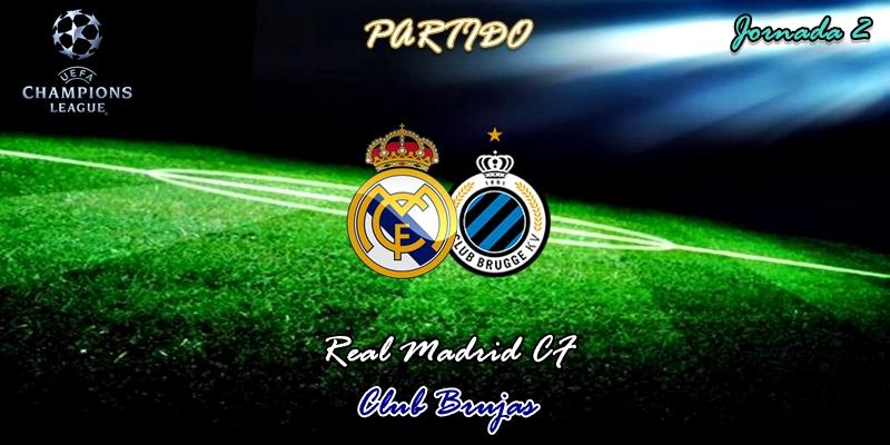 VÍDEO | Partido | Real Madrid vs Club Brujas | UCL | Fase de Grupos | Jornada 2