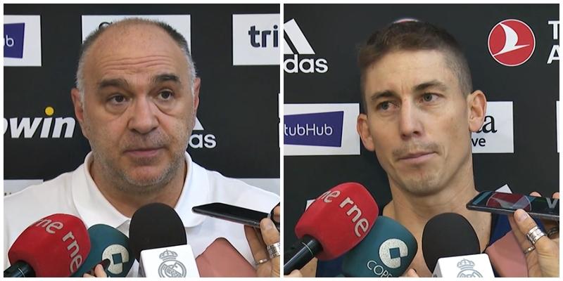 VÍDEO   Declaraciones de Pablo Laso y Jaycee Carroll en la previa del partido ante Zalgiris