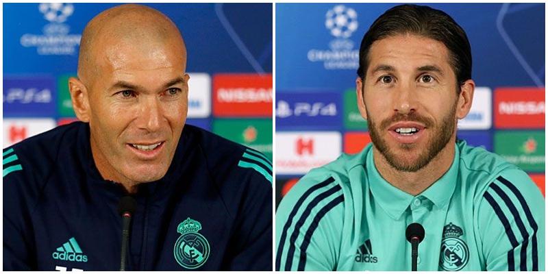 VÍDEO   Rueda de prensa de Zinedine Zidane y Sergio Ramos previa al partido ante el Galatasaray