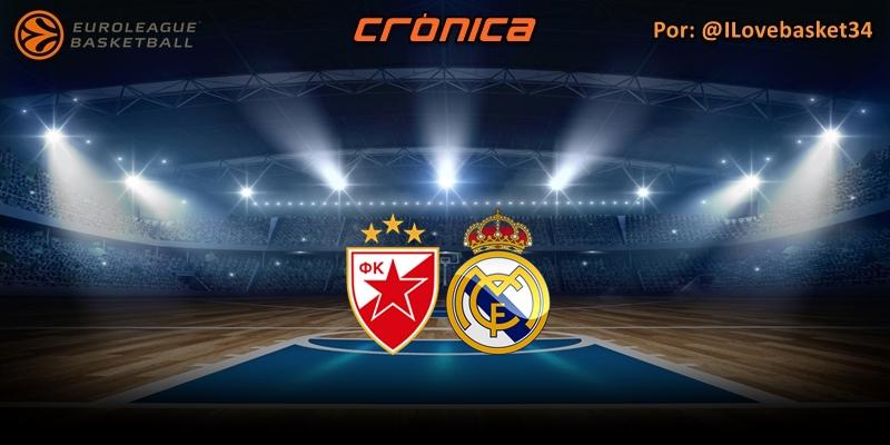 CRÓNICA | Lo mejor, el resultado: Estrella Roja 60 – 75 Real Madrid