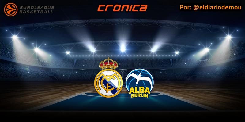 CRÓNICA | Respiro europeo: Real Madrid 85 – 71 Alba Berlin