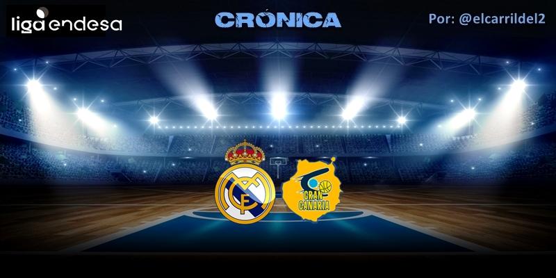 CRÓNICA | Árbitros protagonistas: Real Madrid 92 – 76 Herbalife Gran Canaria