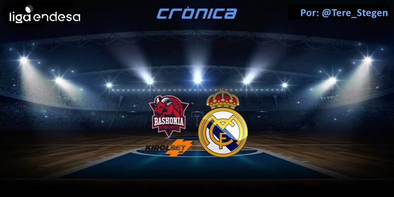 CRÓNICA | Tortugazo en Vitoria: Kirolbet Baskonia 89 – 91 Real Madrid