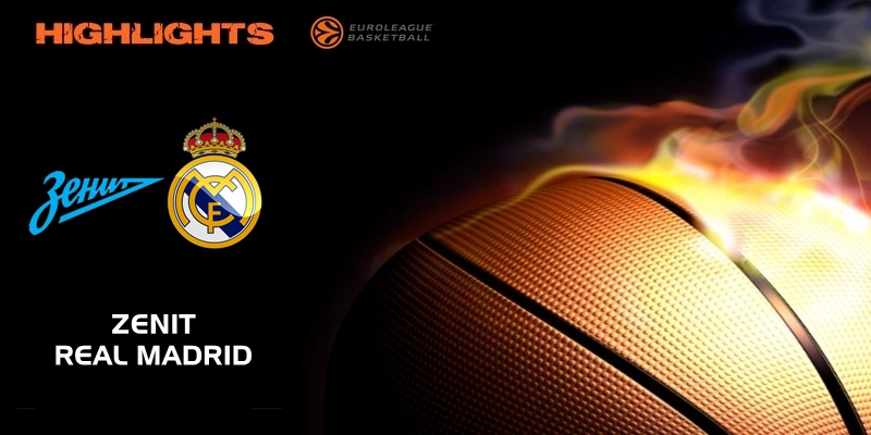 VÍDEO | Highlights | Zenit vs Real Madrid | Euroleague | Jornada 11