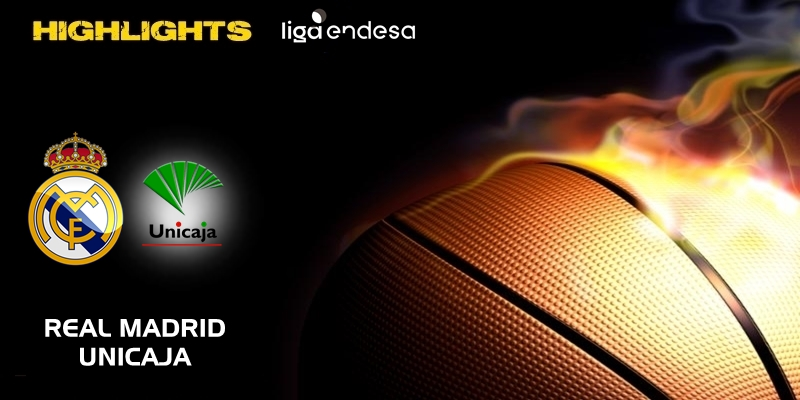 VÍDEO | Highlights | Real Madrid vs Unicaja | Liga Endesa | Jornada 8