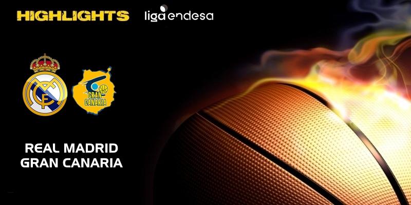 VÍDEO | Highlights | Real Madrid vs Herbalife Gran Canaria | Liga Endesa | Jornada 10