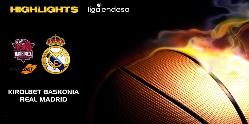 VÍDEO | Highlights | Kirolbet Baskonia vs Real Madrid | Liga Endesa | Jornada 7