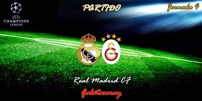 VÍDEO   Partido   Real Madrid vs Galatasaray   UCL   Jornada 4