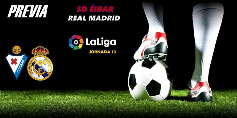PREVIA   SD Éibar vs Real Madrid: Apretón antes del parón
