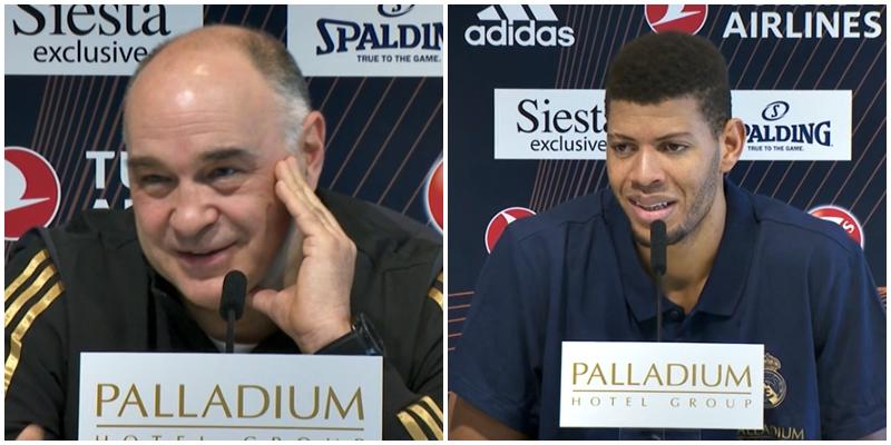 VÍDEO   Declaraciones de Pablo Laso y Walter Tavares en la previa del partido ante el FC Barcelona