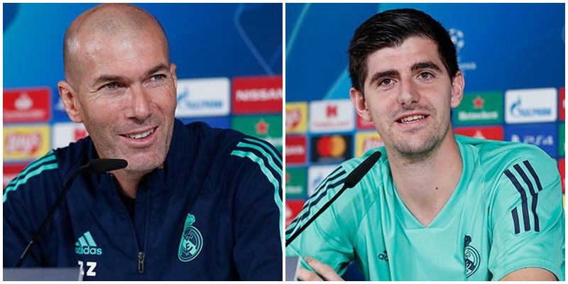 VÍDEO | Rueda de prensa de Zinedine Zidane y Thibaut Courtois previa al partido ante el PSG