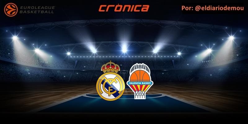 CRÓNICA | Festín ofensivo: Real Madrid 111 – 99 Valencia Basket
