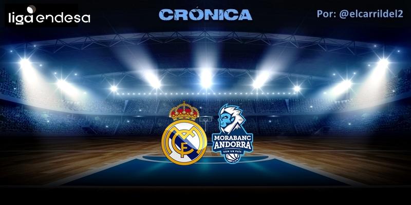 CRÓNICA   ¡Navidad, Navidad!: Real Madrid 91 – 60 Morabanc Andorra