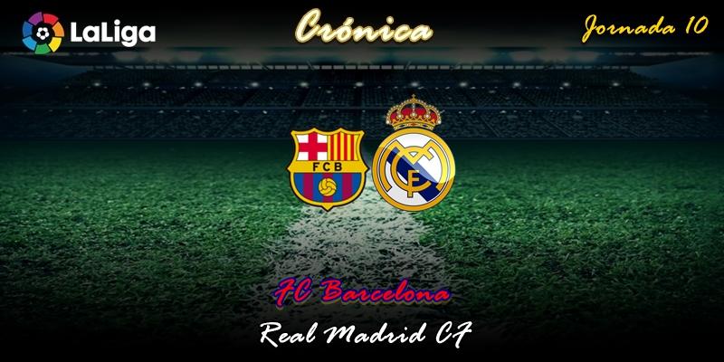 CRÓNICA   De conquistas y atracos:  FC Barcelona 0 – 0 Real Madrid