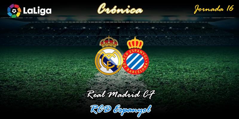 CRÓNICA | Transiciones: Real Madrid 2 – 0 RCD Espanyol