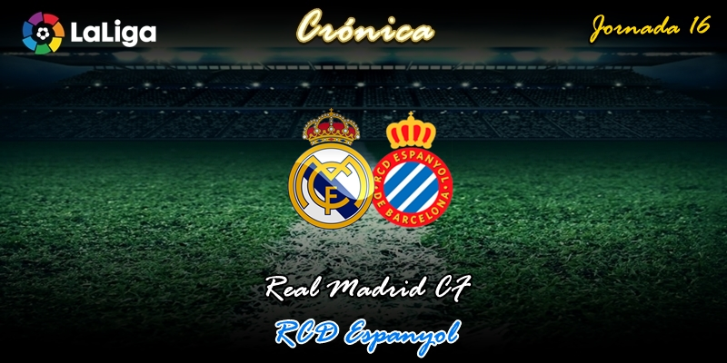 CRÓNICA   Transiciones: Real Madrid 2 – 0 RCD Espanyol