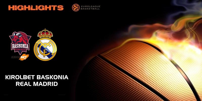 VÍDEO | Highlights | Kirolbet Baskonia vs Real Madrid | Euroleague | Jornada 15