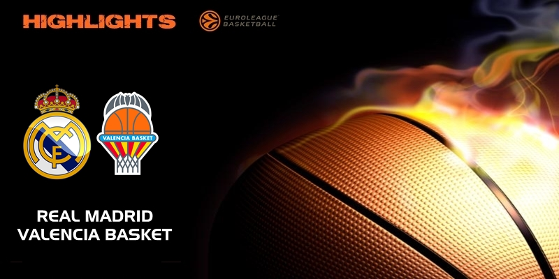 VÍDEO | Highlights | Real Madrid vs Valencia Basket | Euroleague | Jornada 12