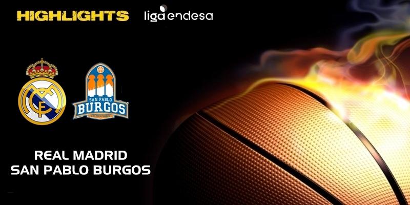 VÍDEO | Highlights | Real Madrid vs San Pablo Burgos | Liga Endesa | Jornada 12