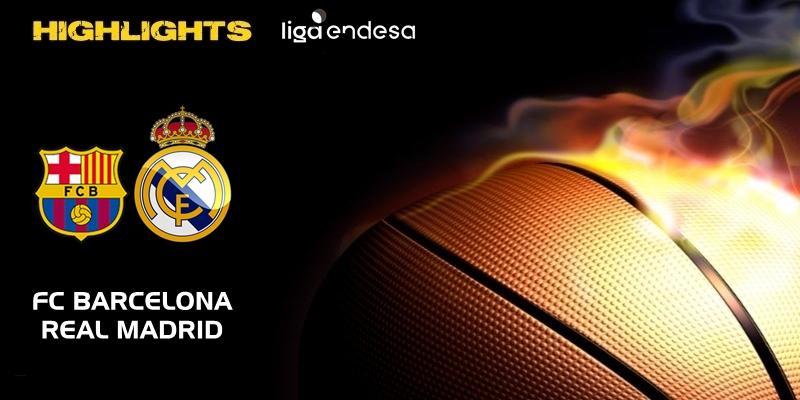 VÍDEO | Highlights | FC Barcelona vs Real Madrid | Liga Endesa | Jornada 15