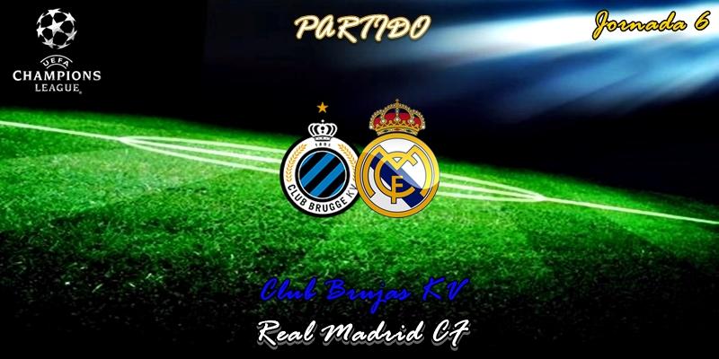 VÍDEO   Partido   Brujas vs Real Madrid   UCL   Jornada 6