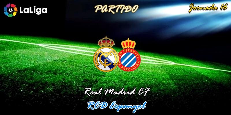 VÍDEO | Partido | Real Madrid vs RCD Espanyol | LaLiga | Jornada 16