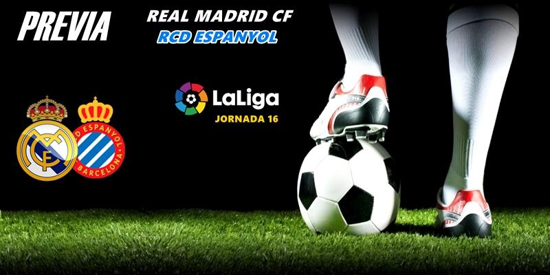 PREVIA   Real Madrid vs RCD Espanyol: Victoria verde frente a las lesiones