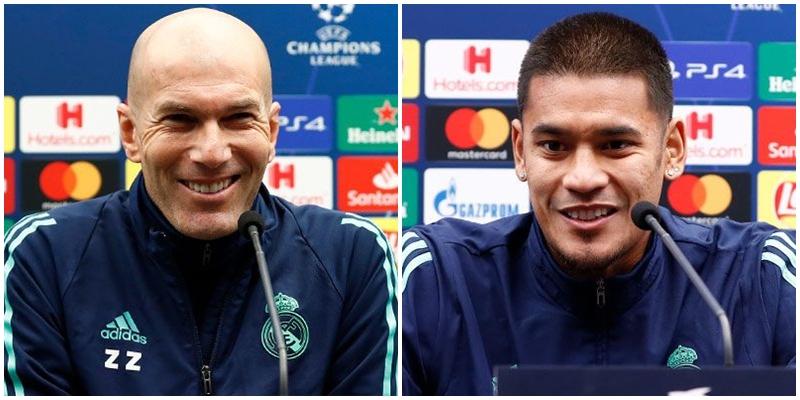 VÍDEO   Rueda de prensa de Zinedine Zidane y Alphonse Areola previa al partido ante el Brujas