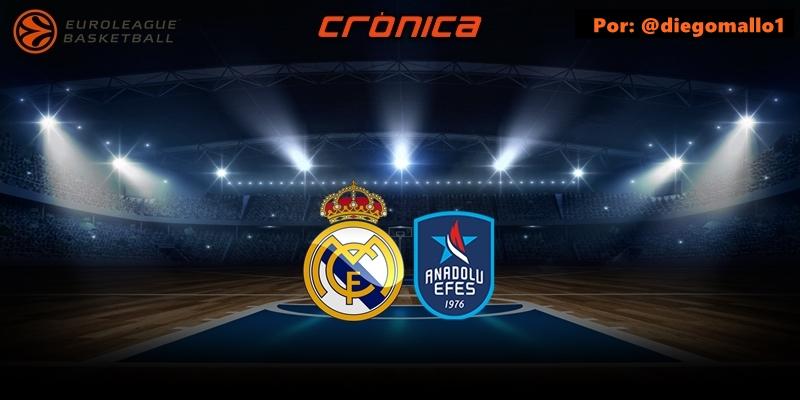CRÓNICA   Larkin y un Madrid sin identidad agravan la crisis: Real Madrid 75 – 80 Anadolu Efes