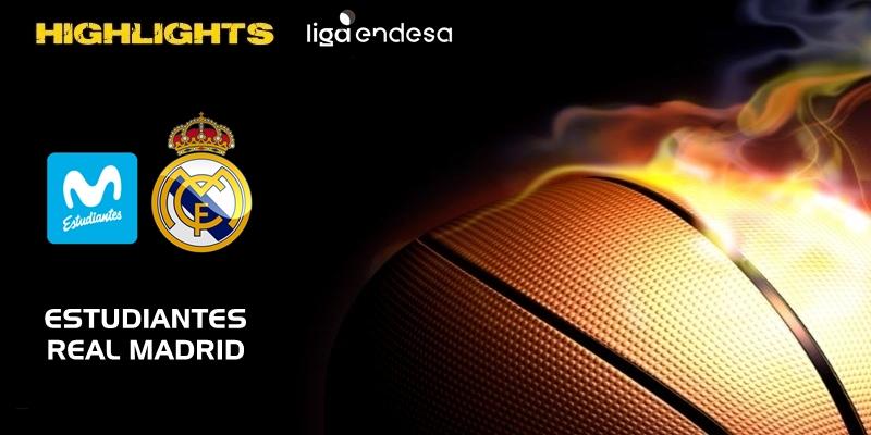 VÍDEO | Highlights | Movistar Estudiantes vs Real Madrid | Liga Endesa | Jornada 17