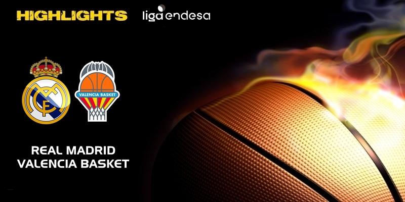 VÍDEO | Highlights | Real Madrid vs Valencia Basket | Liga Endesa | Jornada 16