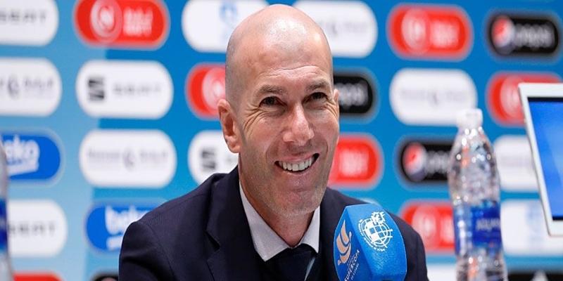 VÍDEO   Rueda de prensa de Zinedine Zidane tras la final de la Supercopa
